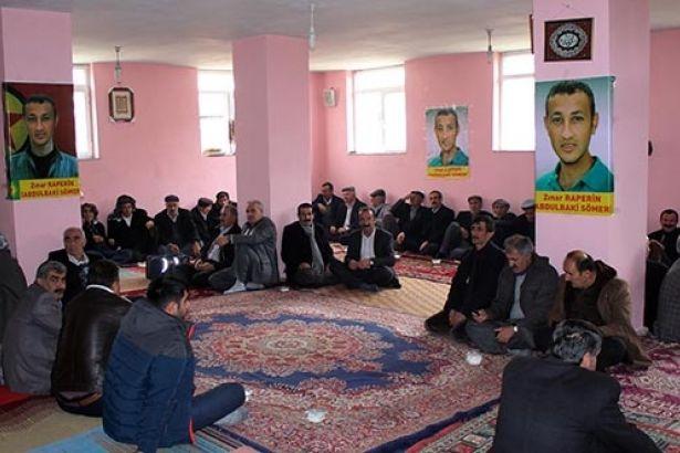 Veille d'hommmage à Abdülbaki Sömer, à Van (Nord-Kurdistan)