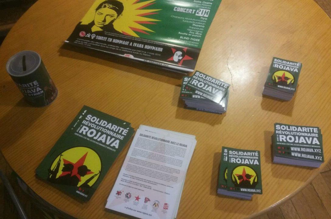 Succès de la soirée de soutien au Rojava