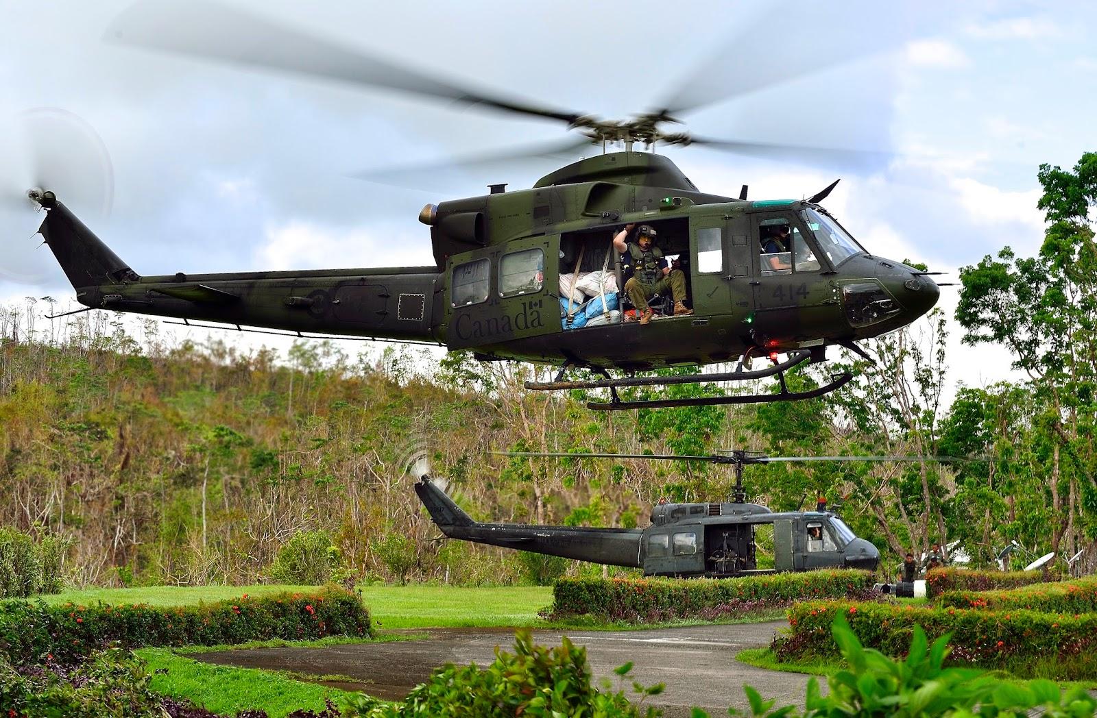 Deux hélicoptères  UH1H  ont immédiatement été envoyés sur les lieux de l'embuscade