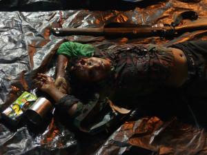 La combattante tuée lors de la fusillade