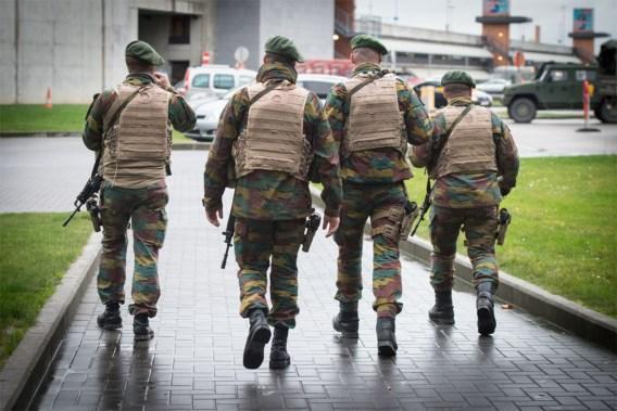 1000 militaires sont déployés à Bruxelles