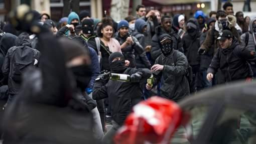 Affrontements lors des manifestations contre la loi Travail