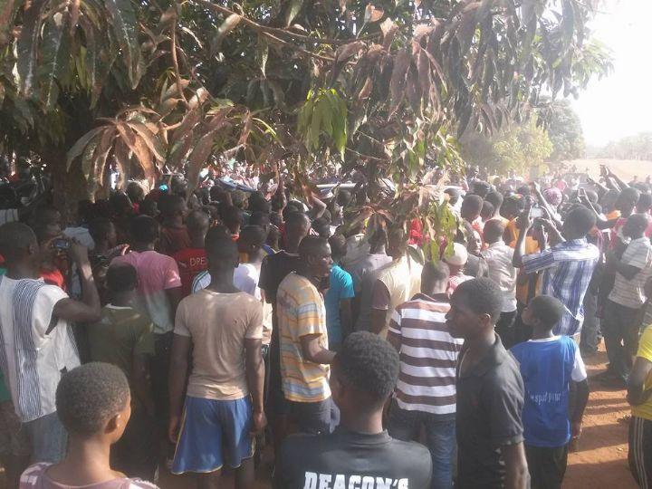 Manifestation à Assuéfry
