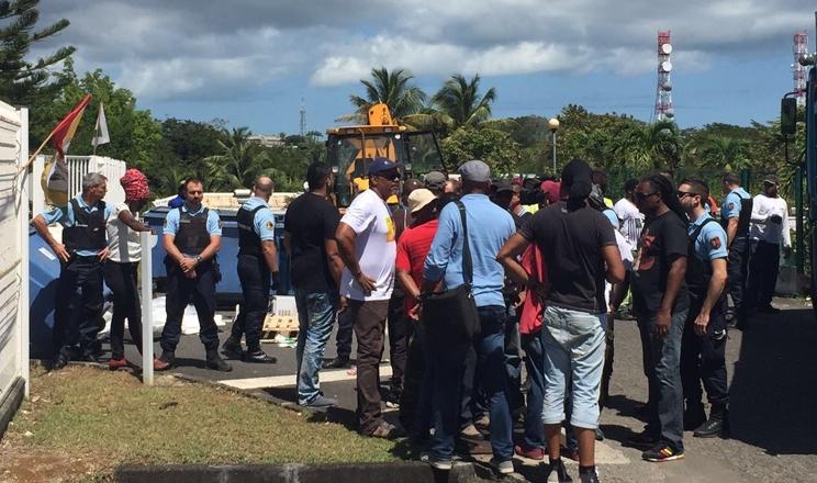 Interventions policières à Canal+ Antilles