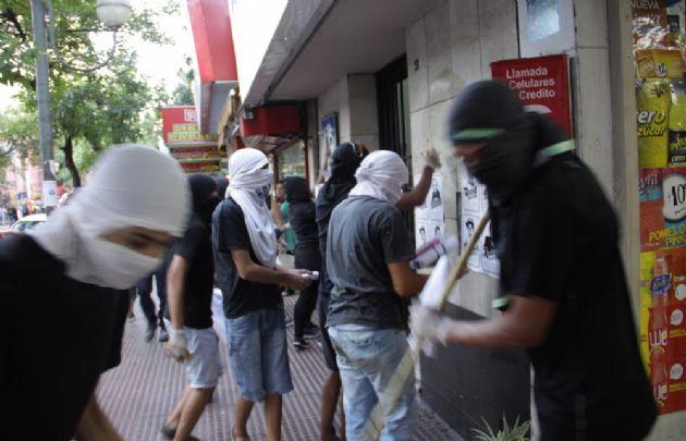 Les incidents à Córdoba