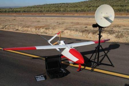 Le drone avant son évasion.