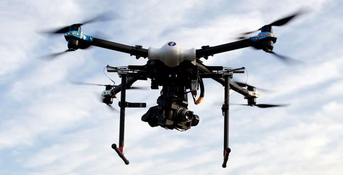 Un des drones de la police fédérale