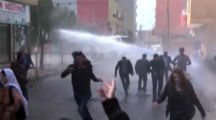 Répression la veille du Newroz à Istanbul