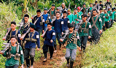 Guérilleros maoïstes aux Philippines