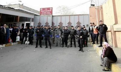 L'entrée d'une prison à Istanbul