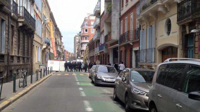 L'opération de police à Toulouse