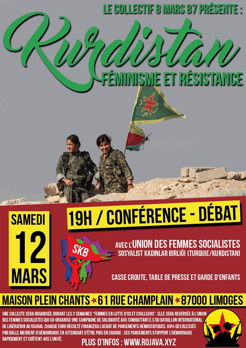 Kurdistan, féminisme et résistance