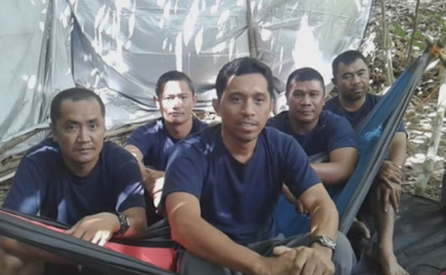 Les policiers capturés
