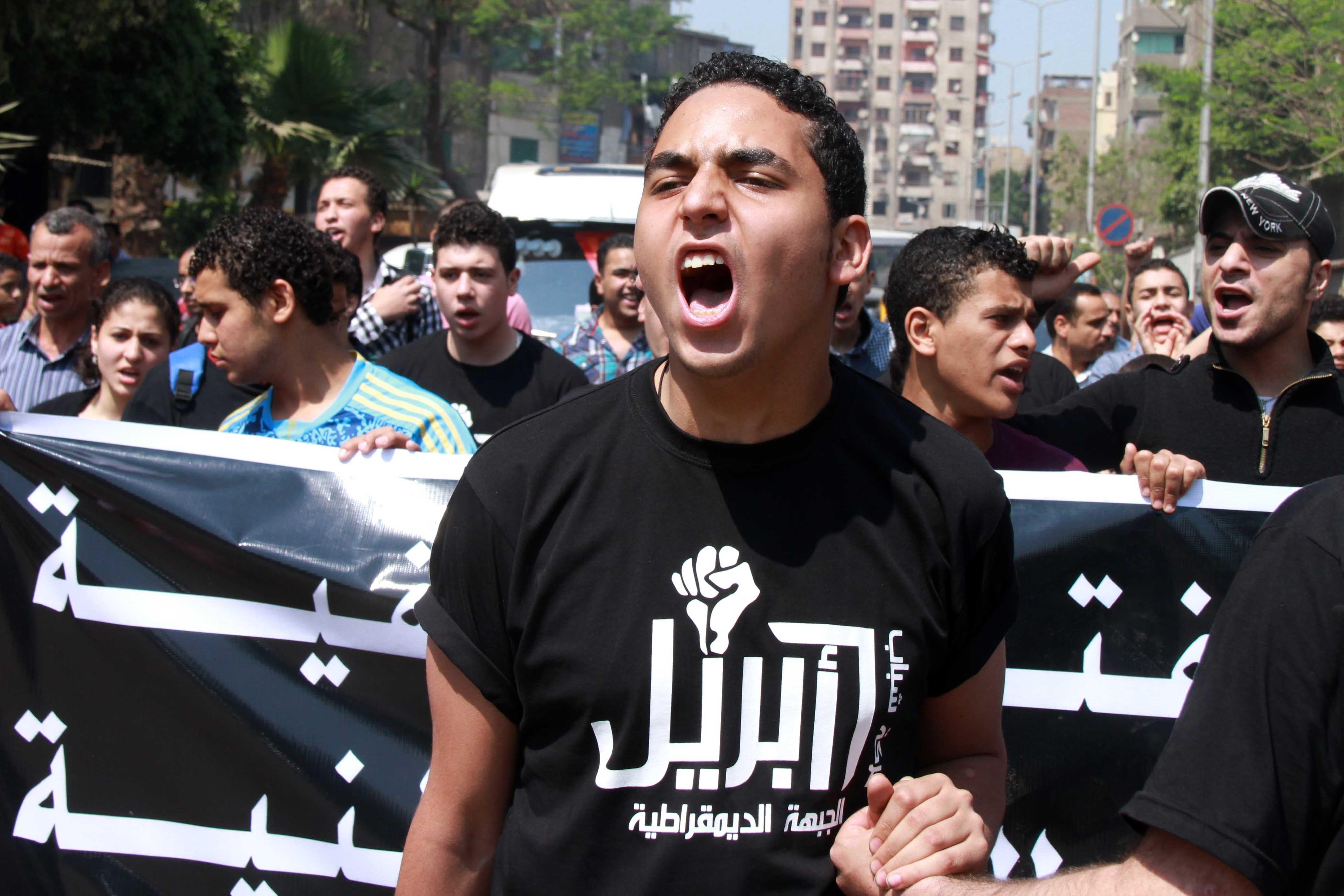 Manifestants du Mouvement du 6-Avril