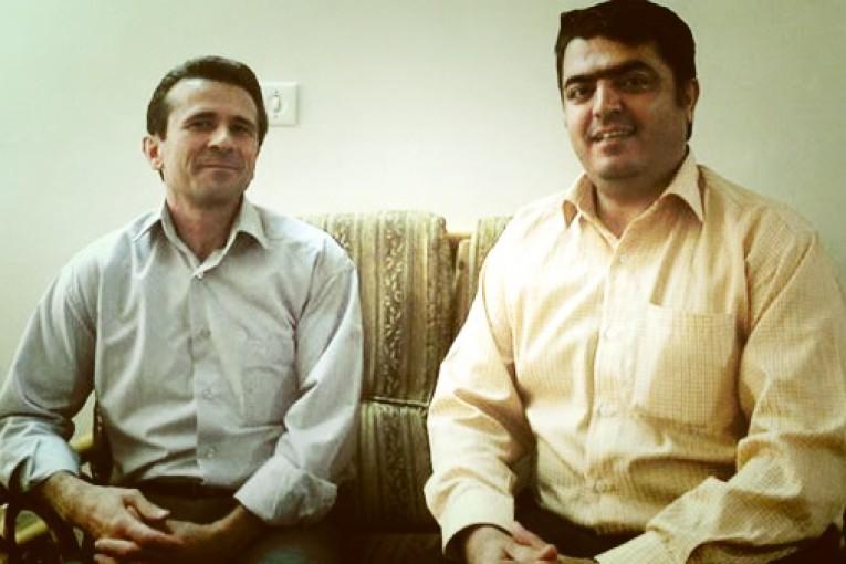 Jafar Azimzadeh et Esmail Abdi