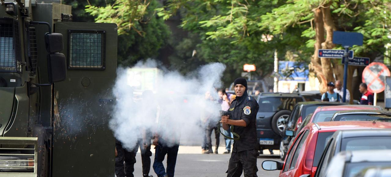 Répression lundi au Caire