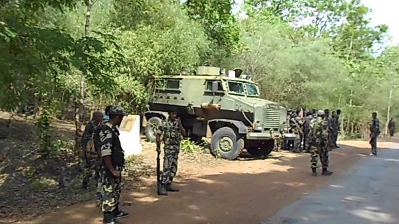 Opération de contre-guérilla dans le Bastar (archive)