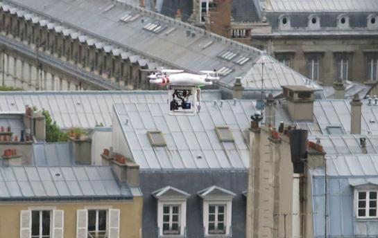 Deux drones supplémentaires pour la Préfecture de Police de Paris