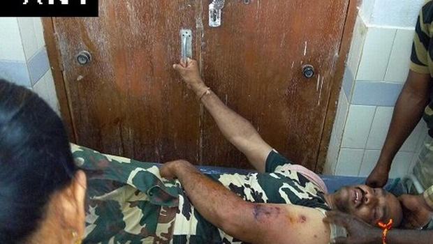 Le paramilitaire blessé hier