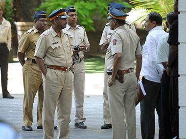 Policiers du Maharashtra