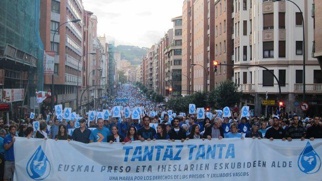 Manifestation de soutien aux inculpés d'Herrira