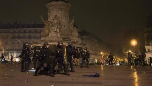 Affrontements à la Nuit Debout