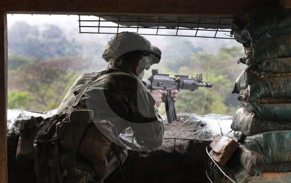 Un militaire de la Force Pégase engagé contre l'ELN
