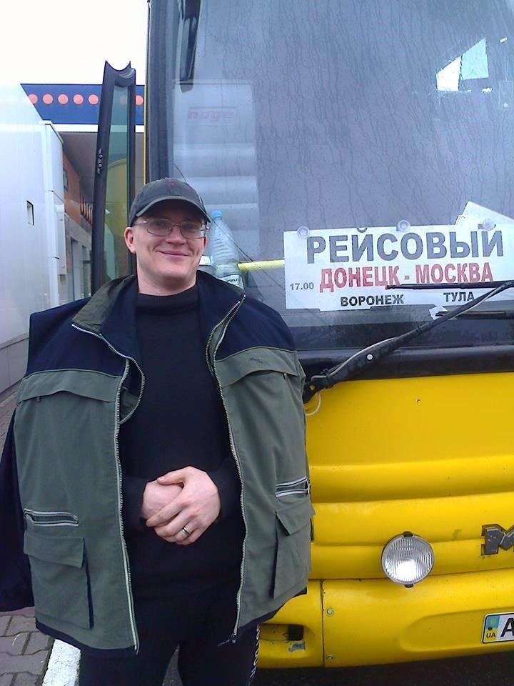 Andreï Sokolov après son passage de la frontière