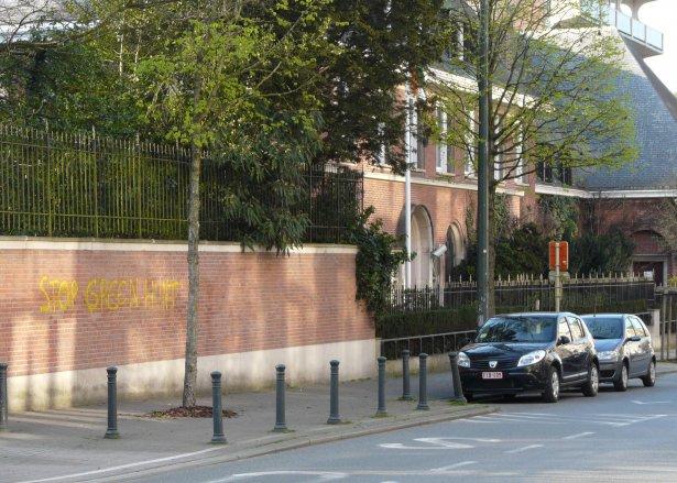 L'ambassade d'Inde à Bruxelles