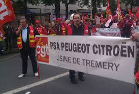 Délégation CGT Tremery