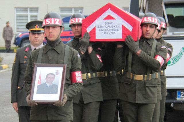 Le commandant des gendarmes de Çaldağ