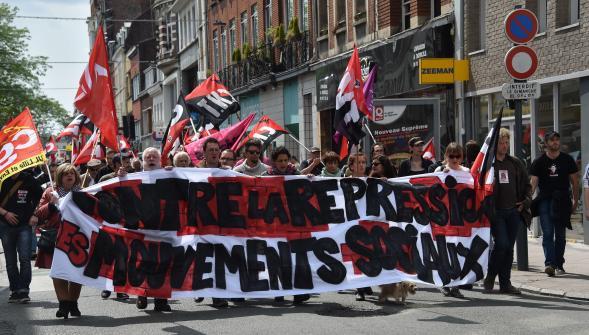 La manifestation à Lille