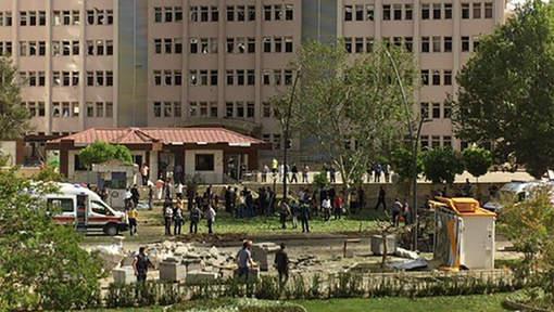 Attaque du QG de la police à Gaziantep