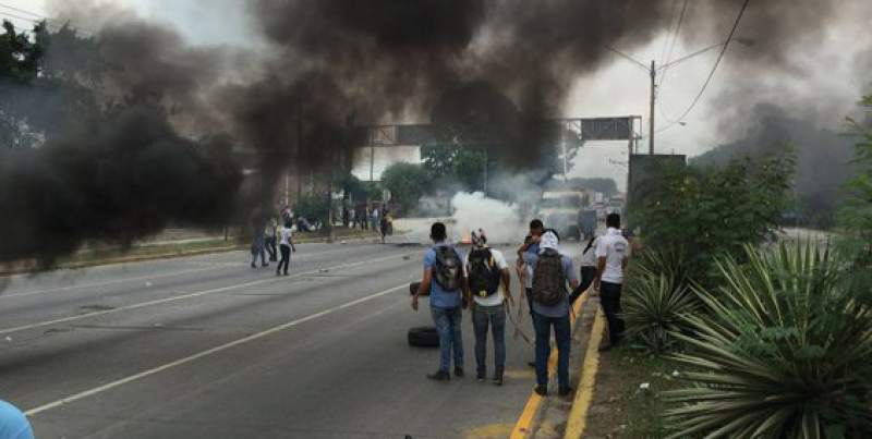Affrontements à San Pedro Sula