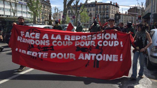 Solidarité avec Antoine