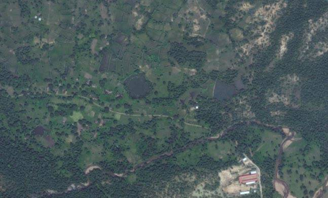 Image satellite de l'ISRO