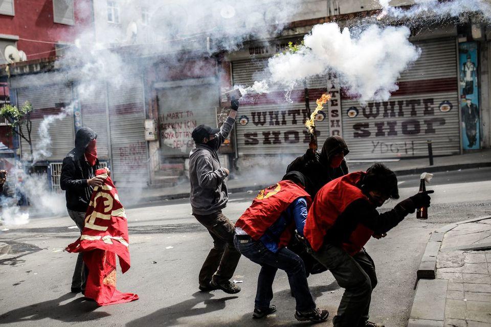 Affrontements à Istanbul