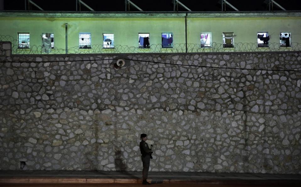 La prison de Korydallos