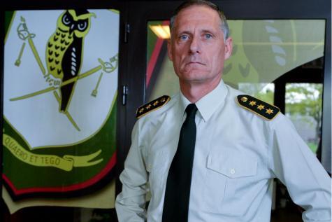 Le lieutenant-général Eddy Testelmans, patron du SGRS