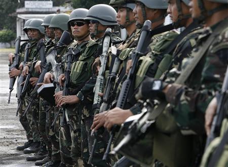 Militaires philippins