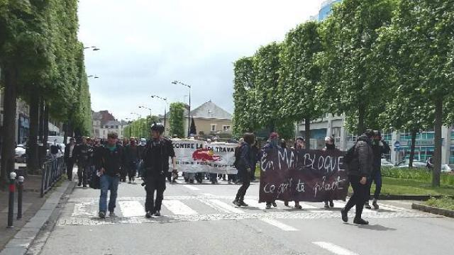 La manifestation de Rennes