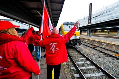 Grève à la SNCB (archive)