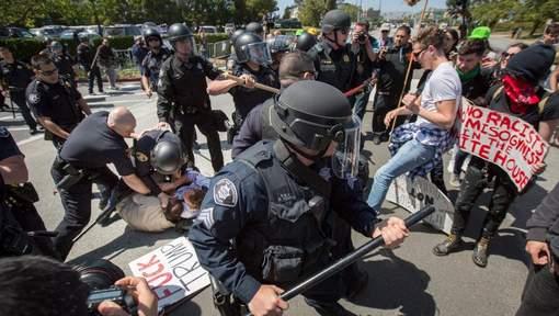 Arrestations à Burlingame