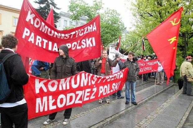 Militants du Parti Communiste Polonais