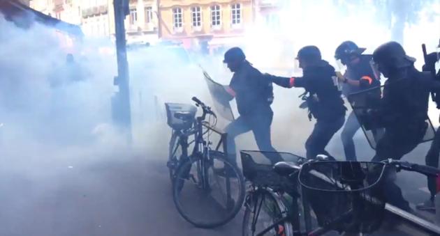 Les affrontements à Toulouse