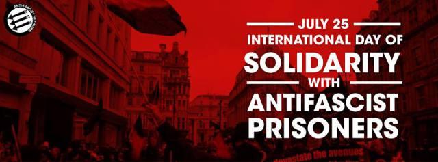 Solidarité avec les prisonniers antifas