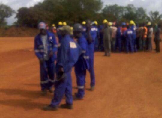 Une image de la grève