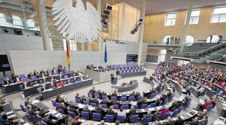 Vote au Bundestag