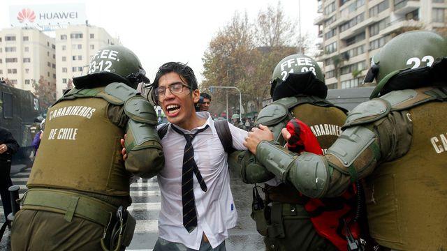 Arrestation avant-hier à Santiago