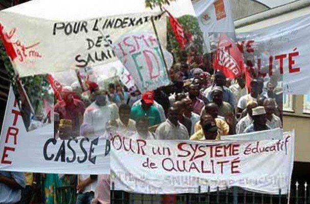 La grève des enseignants au Sénégal